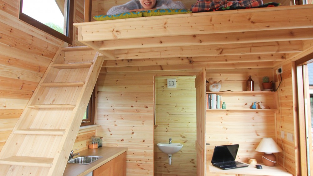 Tiny Homes are a fully functioning home on a small scale.